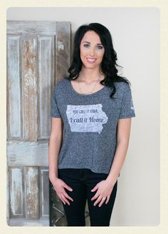 Iowa - I Call it Home Top   AMaVo Boutique   Online Women's Clothing Boutique
