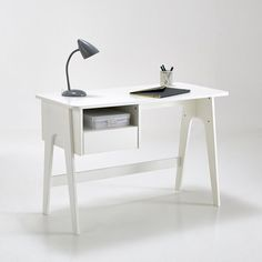 Bureau in retro vintage stijl, adil La Redoute Interieurs | La Redoute
