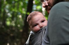 Camping with an infant.
