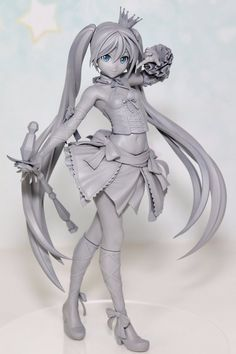 by milkypop crypton_future_media sega max_factory hatsune_miku 3d Model Character, Character Modeling, Character Art, Clay Figures, Anime Figures, Anime Characters, Anime Toys, Character Design Inspiration, Drawing People