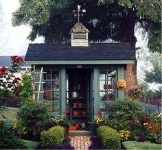 mooi tuinhuis
