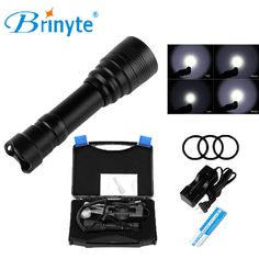 Find More Flashlights & Torches Information about Brinyte DIV11 Technical Leisure Diver Diving Flashlight Cree XM L2 LED Diving Flashlight Torch with 18650 Battery and Charger,High Quality diving flashlight cree,China flashlight cree xm-l2 Suppliers, Cheap flashlight cree from Bobos Flashlight Store on Aliexpress.com