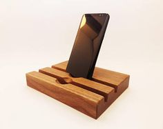 iPhone 7 and iPad Wood DUAL  Station. iPad Dock. iPhone 7 PLUS