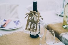 Table numbers #rustic #country #wedding #party @treenridge