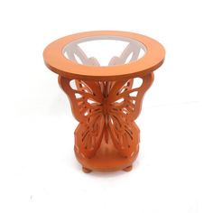 Found it at Wayfair - Butterfly End Table