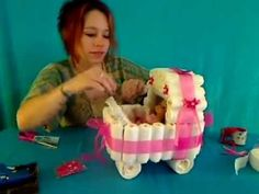 How To Make A Diaper Stroller - YouTube