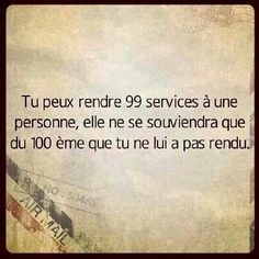 La mémoire est courte chez certaines personnes. ...#quote #citations #text #post #life