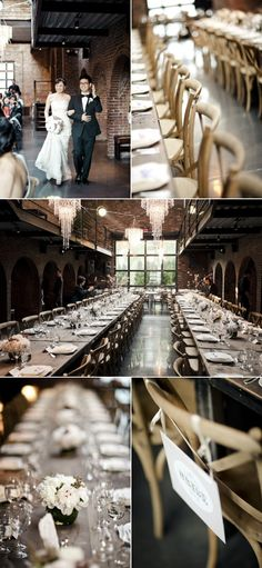 Long Island City Wedding at The Foundry from CLY Creation | Style Me Pretty