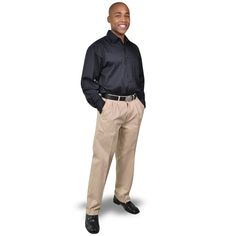Cotton Chinos BRAND: OAKHURST Has superior quality fabric and top quality durable zip Corporate Outfits, Superior Quality, Cut Outs, Khaki Pants, Trousers, Normcore, Zip, Clothing, Fabric