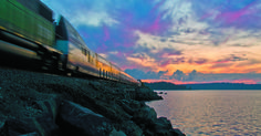 Amtrak's Cascades route: Pacific Northwest at its most majestic