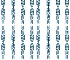 Strips of Arrows fabric by bycharliebean_ on Spoonflower - custom fabric
