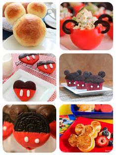 6 recetas divertidas para una fiesta de Mickey Mouse