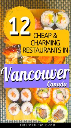 I hope you visit the beautiful, albeit expensive, Vancouver, British Columbia, Canada! We can help your travel budget with our guide to the best & top rated cheap & affordable restaurants in Vancity. We reveal where to eat; the best food for breakfast, brunch, lunch or dinner; drinks & snacks; menu deals; food trucks, cafes & coffee shops; & bars & night life in downtown. Learn our tips, ideas & hacks for things to do in this bucket list destination.#travel #food #restaurants Fuelforthesole.com