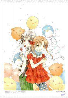 Mikan x Natsume Old Anime, Manga Anime, Natsume And Mikan, Alice Anime, Anime Family, Cute Anime Pics, Awesome Anime, Kaichou Wa Maid Sama, Couples