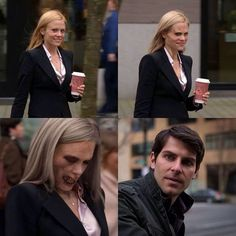 The first time Nick saw Adalind...
