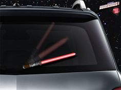 Lightsaber Windshield Wipers for the True Star Wars Fan's Car Lightsaber Design, Lightsaber Colors, Christmas Car, Star Wars Light Saber, Car Gadgets, Star Wars Gifts, Disney Cars, Disney Stuff, Disney Fun