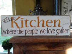 Personalised Kitchen Sign Home Decor Tips Wooden