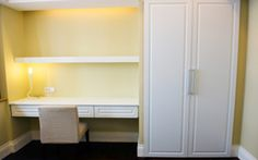 Closet Converted To Desk | Design A Home Office Closet at Ideal Home Garden