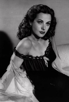 "Hedy Lamarr -1946 - Anne Hathaway's inspiration for Catwoman in the 2012 film ""The Dark Knight Rises"""