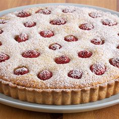 Try this Raspberry Frangipan Tart recipe by Chef Anna Olson. This recipe is from the show Bake With Anna.