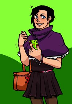 I absolutely adORE Tembrooks Genderfluid Danny/Dana, Who is an absolute cute pie