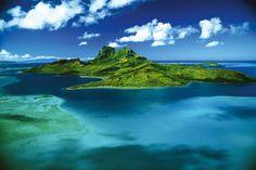 La isla de Bora Bora algo simplemente espectacular