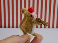 Pipe Cleaner Mice Tutorial - TOYS, DOLLS AND PLAYTHINGS