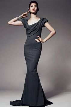 Zac Posen Pre-Fall 2014 Fashion Show Collection