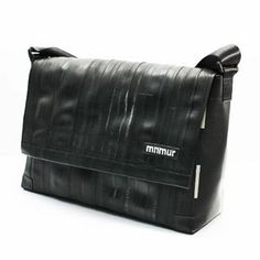 Borsa Messenger 15 Black/gray by Mnmur