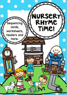 *****Nursery Rhyme Time for Kindergarten and Year 1. Created to give you a week or 2 of activities for each rhyme -  the main focus being sequencing.Please see Preview & photos.Nursey Rhymes icluded in this pack :Mary Had a Little Lamb.Jack and Jill.Humpty DumptyHickory, Dickory, DockItsy Bitsy Spider or Incy Wincy Spider (both versions included)Each Nursey Rhymes has:4 Sequencing cards2 x Sequencing WorksheetsA.
