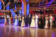 The cast of 'Dancing With The Stars' season 16 appears on week 4 on April 8, 2013.