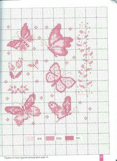 Schemi a punto croce gratuiti per tutti tanti schemi for Farfalle a punto croce per bambini