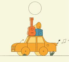 (・へ・) (Some gifs of animation I did for Jack Cunningham's...)