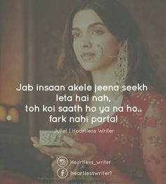 Fark to padega lekin kisi ko bata ke bhi kya fark padta he Poetry Quotes, Hindi Quotes, Quotations, Urdu Poetry, Qoutes, Girly Quotes, True Quotes, Best Quotes, Urdu Thoughts