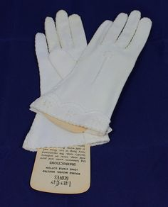 Every Easter I would get a new pair of gloves; I still have several pairs that belonged to my mom & to my gramma; & yes, i do still wear them, EVERY Easter!!  8-)