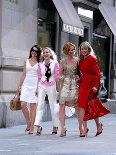 Sex and the City (2008)  Photos with Kim Cattrall, Sarah Jessica Parker, Kristin Davis, Cynthia Nixon