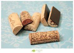 Wine Cork Magnets Set of 6 by limefishshop on Etsy, $10.00