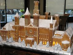 gingerbread castle - Google Search