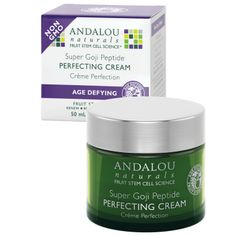 Andalou Naturals Goji Peptide Perfecting Cream-Natural £13 sale price!