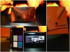 Yves Rocher Quad Eyeshadow Sumptuous Color in Aquatique Subtile Review + makeup look :)