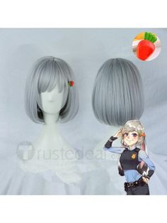 Zootopia Officer Judy Hopps Short and Long Silver Grey Cosplay Wigs $18.99 <3  ♥ ☆༺❀ .•` ✿⊱ ♡༻ ღ☀•` ✿⊱╮  http://www.trustedeal.com/Zootopia-Officer-Judy-Hopps-Short-Silver-Grey-Cosplay-Wig-Bob.html