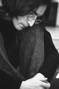 John Lennon: very powerful soul.