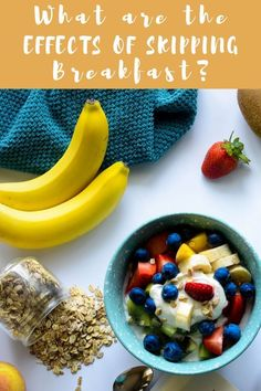 the Effects of Skipping Breakfast? Wondering about breakfast importance? Should you eat breakfast during your morning routine? Get the deets on a balanced breakfast. Balanced Breakfast, Eat Breakfast, Breakfast Ideas, Healthy Vegetarian Breakfast, Vegetarian Recipes, Easy Healthy Recipes, Real Food Recipes, Dairy Recipes, Healthy Kids