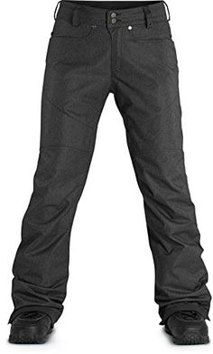 Dakine Women's Britt II Pant, Black Denim, Large >>> Check out the image by visiting the link.