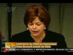 Jornal Nacional: Dilma comete gafe -  O meio ambiente é uma ameaça