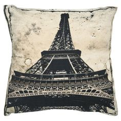 Eiffel Tower Pillow (Set of 2) at Joss and Main