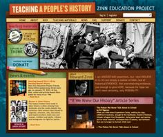 The Zinn Education Project promotes and supports the use of Howard Zinn's best-selling book A People's History of the United States and other materials for teaching a people's history in middle and high school classrooms across the country.... Read More