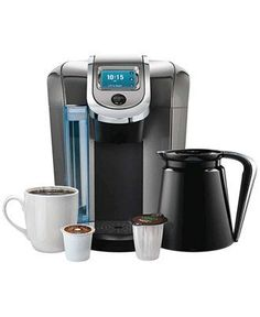Keurig 2.0 brewer — the best way to do coffee your way... and his way!