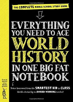Everything You Need to Ace World History in One Big Fat Notebook Big Fat Notebooks STG