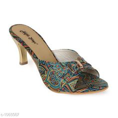 Heels & Sandals Trendy Fancy Women Heel Sandal  *Material* Synthetic  *IND Size* IND -3 , IND - 4 , IND - 5, IND - 6, IND - 7, IND - 8, IND - 9  *Description* It Has 1 Pair Of Women's Heel Sandal  *Sizes Available* IND-8, IND-9, IND-10, IND-2, IND-3, IND-4, IND-5, IND-6, IND-7 *   Catalog Rating: ★4.2 (275)  Catalog Name: Designer Womens Heel Sandals Vol 1 CatalogID_130134 C75-SC1062 Code: 272-1065087-